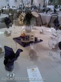 October 18, 2014 - Wedding Reception