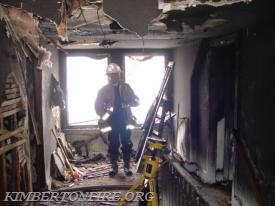 County Fire Investigator Jack Weer on the 3rd floor