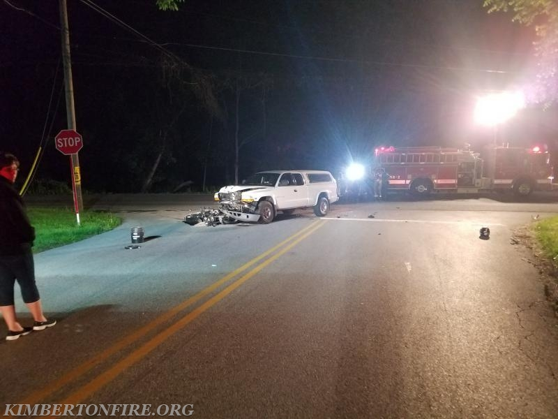 FATAL MOTORCYCLE ACCIDENT ON ROUTE 29 - Kimberton Fire Company