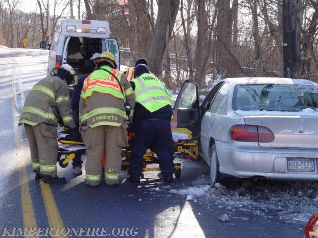 VEHICLE ACCIDENT IN CHARLESTOWN - Kimberton Fire Company