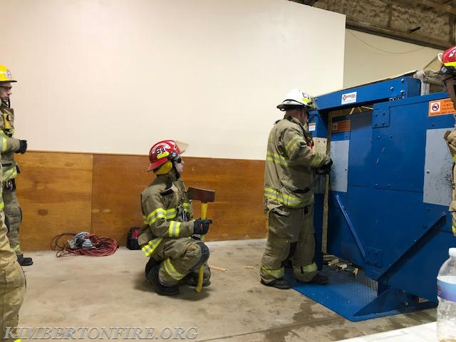 Weekly Drill Forcible Entry Practice Kimberton Fire Company