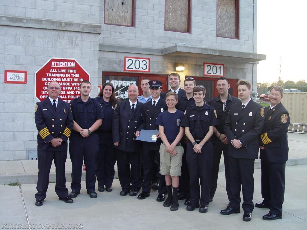 Kimberton Volunteers pose for a group photo
