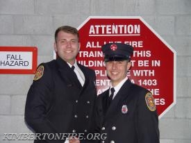 Lieutenant Cody Gable with Tyler
