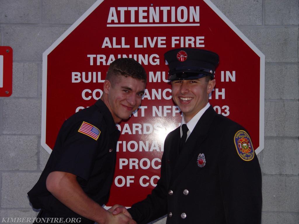 Ira Deger and Tyler