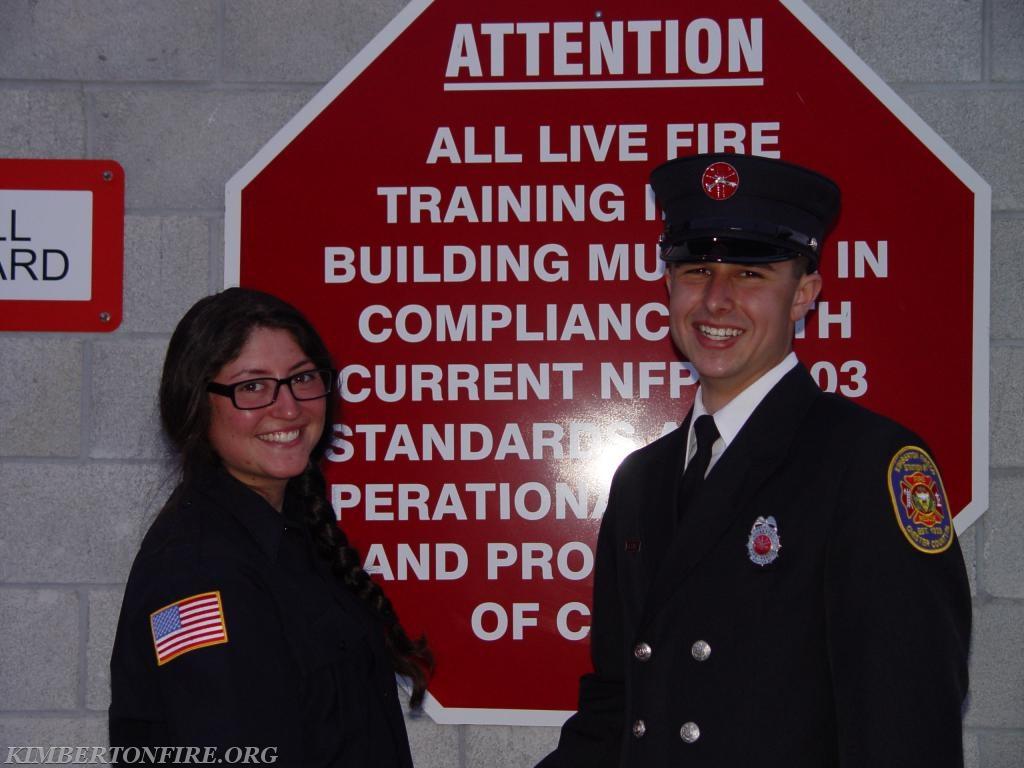 Courtney Yablon and Tyler