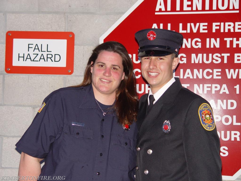 Ashley Marchetti with Tyler