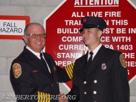 Fire Chief Jay Pollinger and Tyler