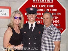 Tyler with his parents