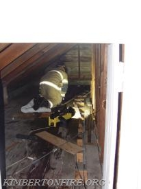 Attic space work